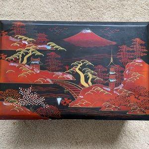Authentic Oriental Jewelry Box